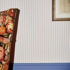 Helene Blanche Polka Stripe Rouge