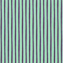 Helene Blanche Painted stripe Peacock Tapet