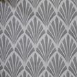 Helene Blanche Deco Fan, Grey