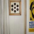 Helene Blanche Small Polka Stripe Creme Noir