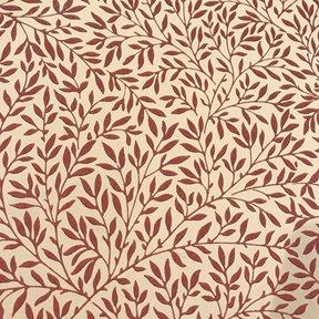 William Morris & co Standen, Beige / Brick red Tapet