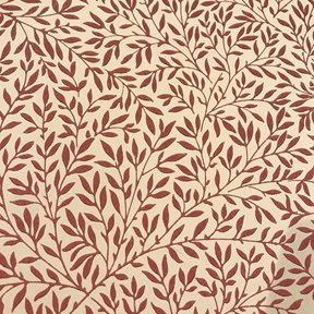 William Morris & co Standen, Beige / Brick red