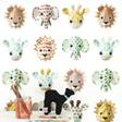 Studio Ditte Wild animals Sweet Tapet