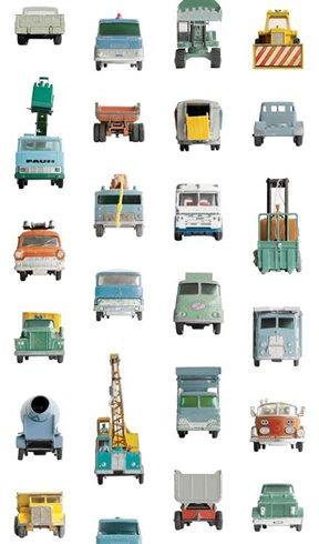 Studio Ditte Work vehicles Tapet