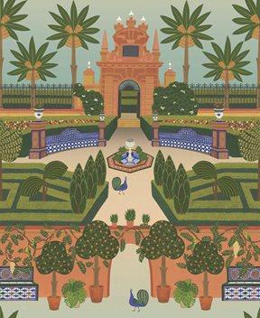 Cole & Son Alcazar Gardens