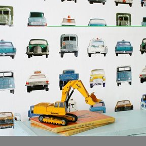 Studio Ditte Cars Tapet