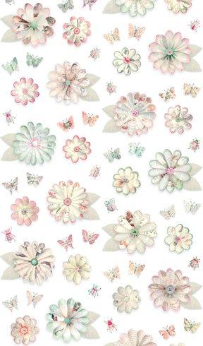 Studio Ditte Flowers Tapet