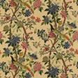 Baker Hydrangea bird, Parchment Tyg