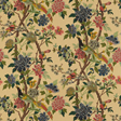 Baker Hydrangea bird, Parchment