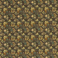 Baker Meadow Fruit, Charcoal Green