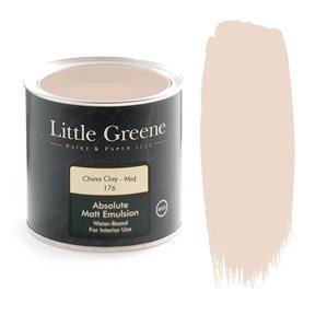 Little Greene China Clay - Mid 176