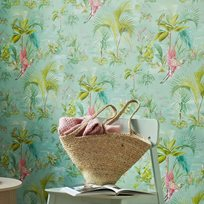 Pip Palm scenes, Blue Tapet