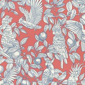 Långelid / von Brömssen Talk about cockatoos Tapet