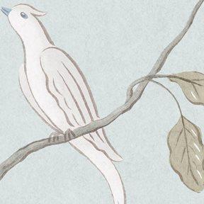 Lewis & Wood Adam´s Eden - Snowbird Tapet