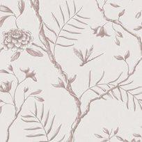 Lewis & Wood Jasper Peony Hellebore Pink Tapet