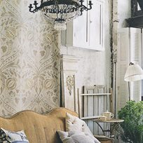 Lewis & Wood Chateau Gesso Tapet