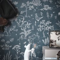 Sandberg Hollie, Dark Blue Tapet