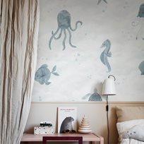 Sandberg Alice, Ocean blue Tapet