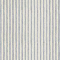 Ian Mankin Candy Stripe Bluebell