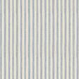Ian Mankin Candy Stripe Bluebell Tyg