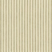 Ian Mankin Candy Stripe Cream