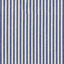 Ian Mankin Candy Stripe Indigo Tyg