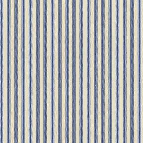 Ian Mankin Ticking Stripe 01 Airforce Tyg