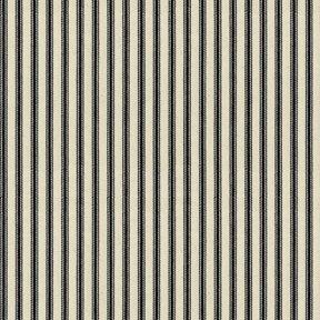 Ian Mankin Ticking Stripe 01 Black