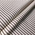 Ian Mankin Ticking Stripe 01 Brown