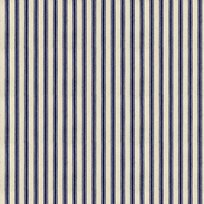 Ian Mankin Ticking Stripe 01 Navy