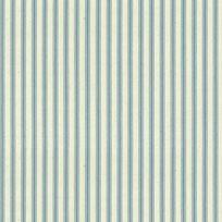 Ian Mankin Ticking Stripe 01 Seagreen Tyg