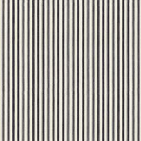 Ian Mankin Ticking Stripe 01 Dark Navy