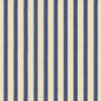 Ian Mankin Ticking Stripe 2 Airforce Tyg