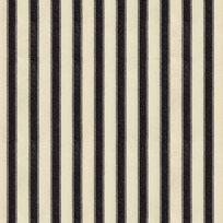 Ian Mankin Ticking Stripe 2 Black Tyg