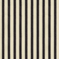 Ian Mankin Ticking Stripe 2 Black