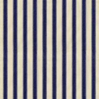 Ian Mankin Ticking Stripe 2 Navy Tyg