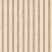 Ian Mankin Ticking Stripe 2 Pink Tyg