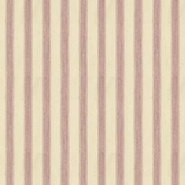 Ian Mankin Ticking Stripe 2 Pink