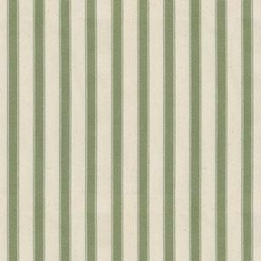 Ian Mankin Ticking Stripe 2 Sage Tyg