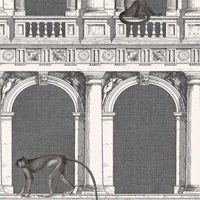 Fornasetti Procuratie e scimmie Tapet