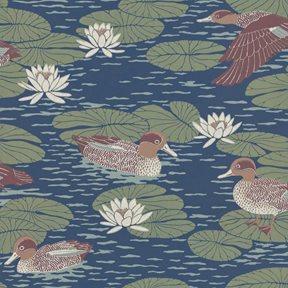 Långelid / von Brömssen Duck pond, Deep blue