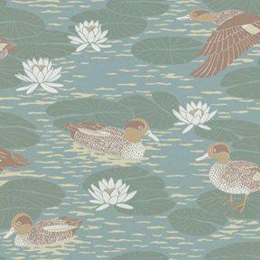 Långelid / von Brömssen Duck pond, Duck egg Tapet