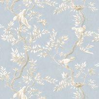 Lewis & Wood Doves, Summer Blue Tapet
