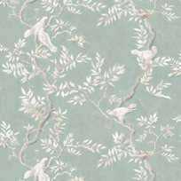 Lewis & Wood Doves, Aquamarine Tapet