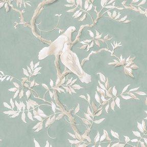 Lewis & Wood Doves, Aquamarine