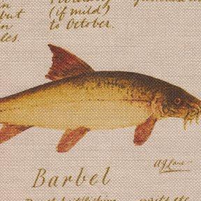 Lewis & Wood European Fish Tyg