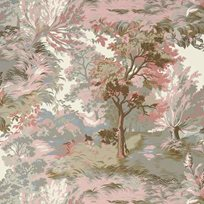 Thibaut Lincoln Toile Blush