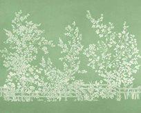Thibaut Villa Garden Mural Green Tapet