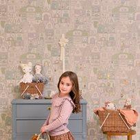 Majvillan Dollhouse Tapet