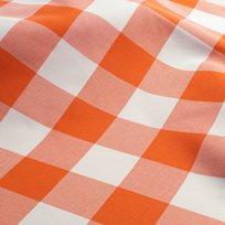 Nya Nordiska Nizza Check 94 orange Tyg